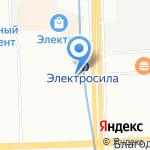 Компьютерная помощь на карте Санкт-Петербурга