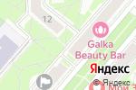 Схема проезда до компании Шелковый рай в Санкт-Петербурге