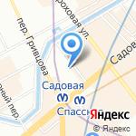 Городской Центр Доступной Недвижимости на карте Санкт-Петербурга