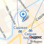 The МаSтерская на карте Санкт-Петербурга