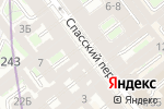 Схема проезда до компании KERAMA MARAZZI в Санкт-Петербурге