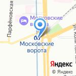 Месье Патиссье на карте Санкт-Петербурга