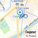 Дали-Тур на карте Санкт-Петербурга