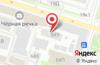 Схема проезда до компании Воллен в Санкт-Петербурге