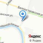 Автокэб на карте Санкт-Петербурга