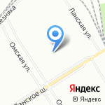Клуб физической подготовки на карте Санкт-Петербурга