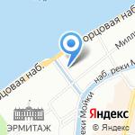 Оркестр штаба Северо-Западного регионального командования внутренних войск МВД России на карте Санкт-Петербурга