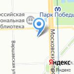 Muztang на карте Санкт-Петербурга