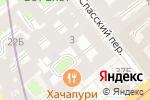 Схема проезда до компании Онлайнтур в Санкт-Петербурге