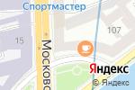 Схема проезда до компании Характер кофе в Санкт-Петербурге