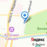 Кофунций на карте Санкт-Петербурга