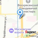 Санд-Строй на карте Санкт-Петербурга