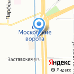 Catherine nail collection на карте Санкт-Петербурга