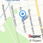 Танцевальная студия Миры Новак на карте Санкт-Петербурга