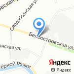 Партнер на карте Санкт-Петербурга
