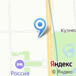 Скат на карте Санкт-Петербурга