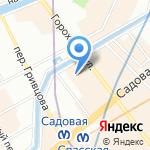 PRYANIKI на карте Санкт-Петербурга