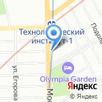 CB Vape на карте Санкт-Петербурга