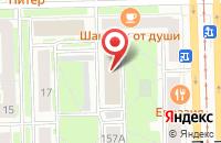 Схема проезда до компании Бизнес-Лайн в Санкт-Петербурге