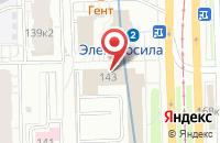 Схема проезда до компании Ремвагонсервис в Санкт-Петербурге