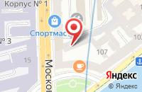 Схема проезда до компании Дизайн Депо в Санкт-Петербурге