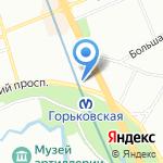 Слетать.ру на карте Санкт-Петербурга