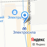 FORT TOWER на карте Санкт-Петербурга