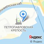 Улица времени на карте Санкт-Петербурга
