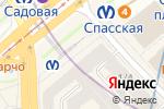 Схема проезда до компании Алоха в Санкт-Петербурге