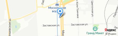 Hausstand на карте Санкт-Петербурга