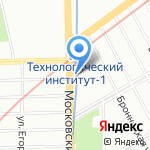 Arte на карте Санкт-Петербурга
