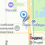 Цветочный рай на карте Санкт-Петербурга