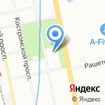 Ярославский 67 на карте Санкт-Петербурга