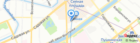 Анис на карте Санкт-Петербурга