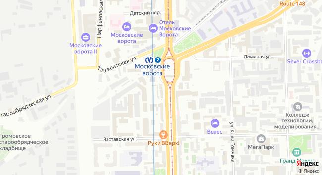 Бизнес-центр «Московский 105» - превью 2
