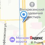 ТМ проект на карте Санкт-Петербурга