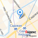 Стоматологическая поликлиника №14 на карте Санкт-Петербурга