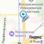 Петербуржский центр жестяных изделий на карте Санкт-Петербурга