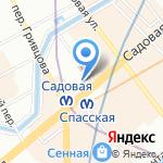 Giros на карте Санкт-Петербурга