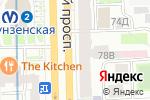 Схема проезда до компании ГРАДУСЫ всего мира в Санкт-Петербурге