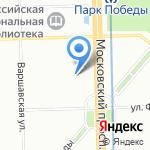 Средняя общеобразовательная школа №507 на карте Санкт-Петербурга