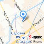 ПРЕССИНФОРМ на карте Санкт-Петербурга