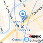 Gurme на карте Санкт-Петербурга