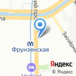 Багетная мастерская на карте Санкт-Петербурга