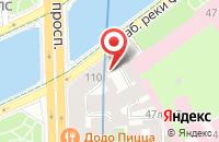 Схема проезда до компании Виктория в Санкт-Петербурге