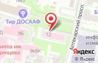Схема проезда до компании Инпроф Плюс в Санкт-Петербурге