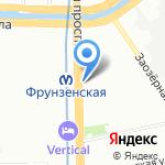 Здравие на карте Санкт-Петербурга