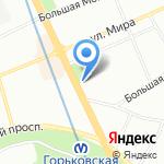 Агротехмаш на карте Санкт-Петербурга