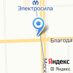 Ткания на карте Санкт-Петербурга