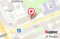 Схема проезда до компании Рубин в Санкт-Петербурге